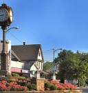 welcome-to-columbiana-ohio-clock-at-roundabout