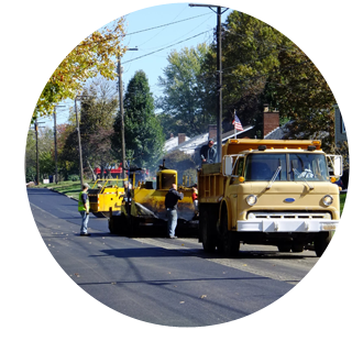 Improvement projects made possible by tax dollars in Columbiana, Ohio